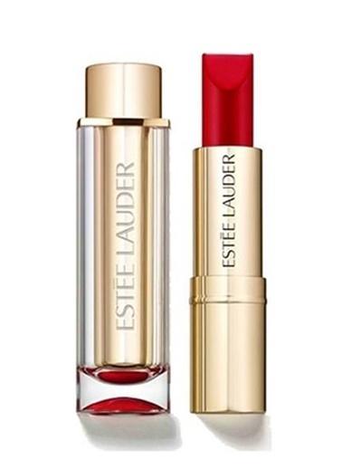 Estée Lauder Estã©E Lauder Pure Color Love Lipstick 310 Zengin Mürdüm Tonlarında Yüksek Pigmentli Mat Bar Red Ruj Renksiz